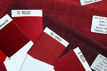 Psicología del color y significado aplicado en textiles: Colores cálidos