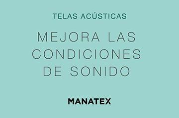 Tejidos acústicos para controlar las condiciones de sonido en estancias