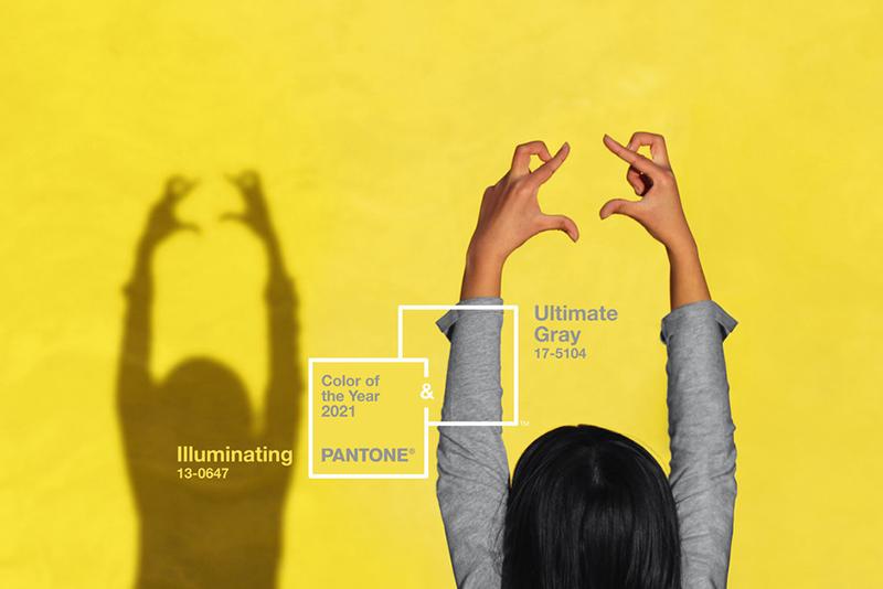 Color del año 2021 según Pantone: Ultimate Gray + Illuminating