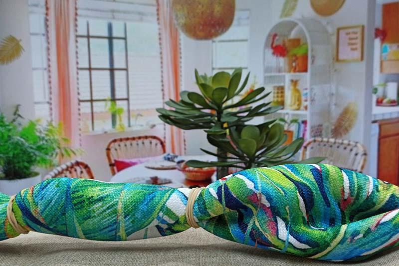 Estampados textiles personalizados para decorar el hogar: Tie-dye y shibori