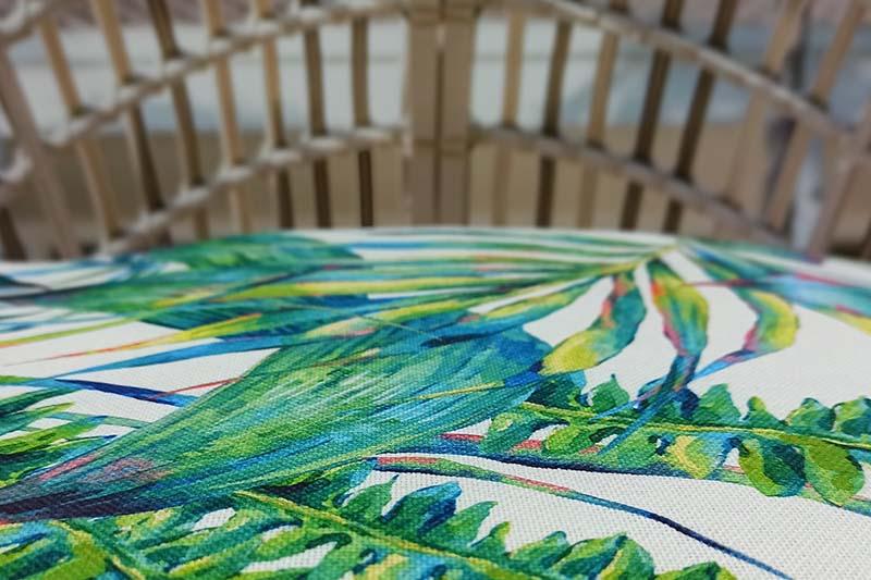 Estampados textiles personalizados para decorar el hogar: Motivos florales