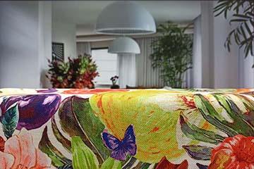 Estampados textiles personalizados para decorar el hogar: Efecto acuarela