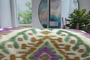 Estampados textiles personalizados para decorar el hogar: Inspiración étnica