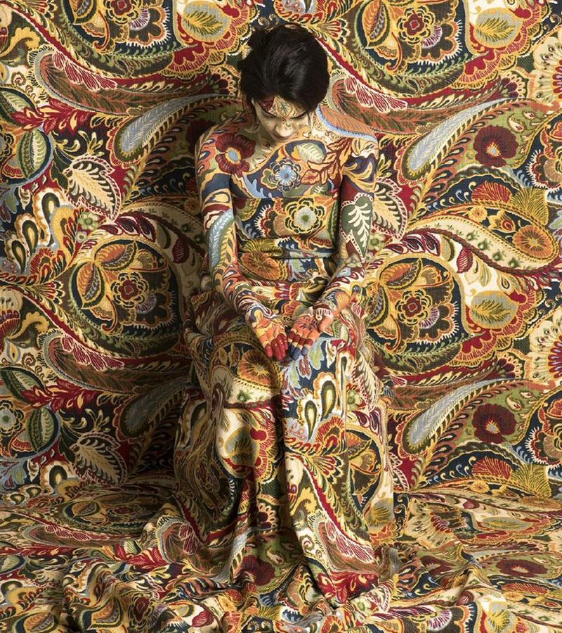 Estampados textiles personalizados para decorar el hogar: Camuflaje